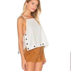 Free People City Fever Tank Top